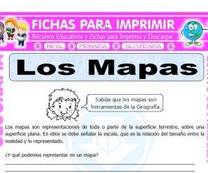 Los Mapas para Quinto de Primaria
