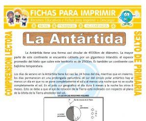 La Antártida para Sexto de Primaria