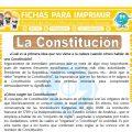 La Constitución para Sexto de Primaria