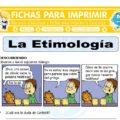 La Etimología para Sexto de Primaria