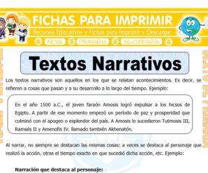 Textos Narrativos para Sexto de Primaria