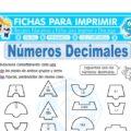 Números Decimales Ejercicios para Cuarto de Primaria