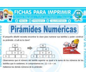 Pirámide Numérica para Cuarto de Primaria